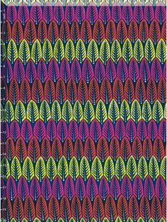 African wax block print fabric   via vlisco.com
