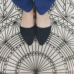 Spread #floorcore, it's the Lonny way. #lonnytravels @ikeausa #floocoremalmo