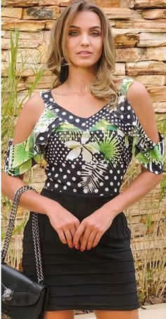New fashion style spring moda ideas Spring Dresses Casual, Casual Outfits, Fashion Outfits, Trendy Fashion, Womens Fashion, Love Clothing, Blouse Styles, Clothes, Spring Summer