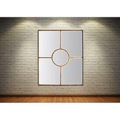 On craque pour ce miroir de taille xl style atelier en for Decoration contour fenetre exterieur
