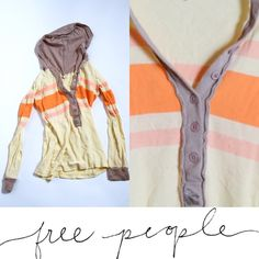 Free people knit hoodie Pre-loved free people hoodie. Only one small spot on the right arm. (Shown) Free People Tops Sweatshirts & Hoodies