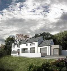 Louise Sliney Architects MRIAI  Cork   Kinsale House Designs Ireland, Building Extension, Two Storey House, Rural House, Cottage Renovation, Timber Cladding, Planning Permission, Modern House Design, Deco