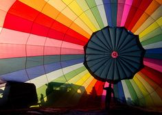 News Photo : A hot air balloon is inflated at the Bristol...