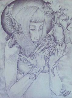 Menina Dragão