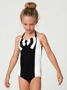 swimsuit sewing pattern, girls swimwear pattern, retro vintage swimwear pattern