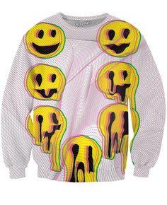 Wax Smile Crewneck Sweatshirt