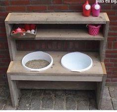 """Hallöchen,ich möchte meinem kleinen Sohn 1,5 Jahre eine """"Matschküche"""" für den Garten bauen und könnte einen alten (Beistell)Tisch, einen alten Fernsehschrank oder ein Sideboard als Grundlage gebrauchen. Muss nicht mehr schön sein, wird ja noch verschönert.Wer kann sowas in der Art vorzugsweise umsonst abgeben? Freue mich - und der Kleine später auch :)Dankeschön"""