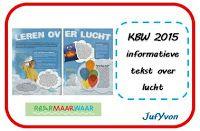 ©JufYvon: Kinderboekenweek informatieve tekst over lucht Spelling, School, Games