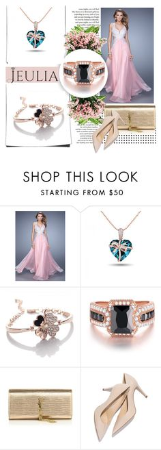 """""""jeulia"""" by car69 ❤ liked on Polyvore featuring мода, Privé, Yves Saint Laurent, jewelry и jeulia"""