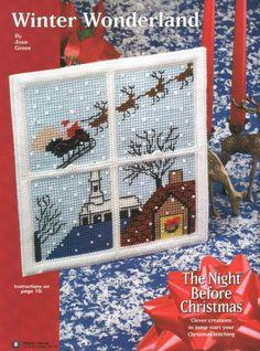 WINTER WONDERLAND by JOAN GREEN 1/3 - CHRISTMAS WALL HANGING