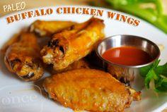Paleo Buffalo Chicken Wings – Lunch Version