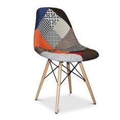 PC-016/WP Silla Eames Dsw Patchwork New