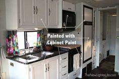 Tips for painting the cabinets without doing twelve layers of primer and all that nonsense!