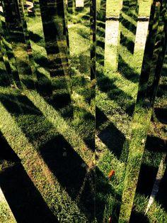Jeppe Hein, art, labyrinth, ordrupgaard