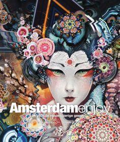 Cover december - januari 2012. Android Jones