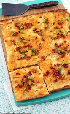 Bacon Cheddar Mashed Potato Crunch