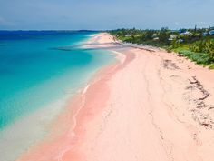 No Caribbean island is ugly, but Harbour Island easily wins Prom Queen for the region. The impossibly pretty stretch of rose-colored sand is due to a less-than-pretty source: the remaining calcium left by teeny tiny marine animals called foraminifera. You're lounging on the corpses of amoeba-like creatures, but wow, are they beautiful.
