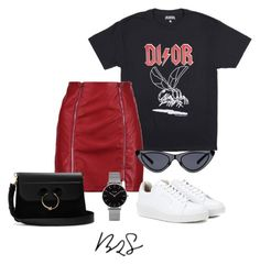 """#871"" by blendingtwostyles ❤ liked on Polyvore featuring Boohoo, Eytys, J.W. Anderson and Topshop"