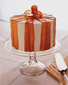 It's a bit of work, but this carrot ginger layer cake with orange cream cheese frosting is worth the effort.