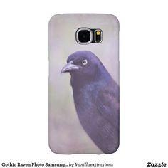 Gothic Raven Photo Samsung Galaxy Case
