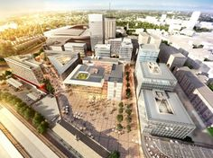 Foster + Partners Reveals Cardiff Central Square Masterplan