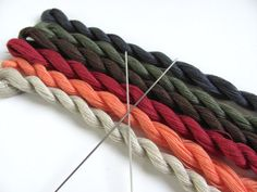 Extra Fine 2 Ply Cotton Yarn Skein for 1:12 by MiddleStreetMinis