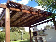Pergolas - Pergojardin - decoracion exterior de madera, pergolas, porches y cenadores