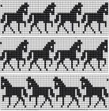 Billedresultat for islandske heste strikkeopskrift