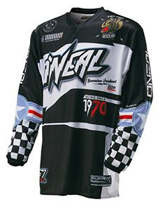 O'Neal Element Afterburner youth Jersey (Black/Blue, Small)