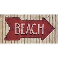 Going to the Beach Canvas Reproduction from @PoshTots #poshtots #art #beach #baby #nursery #sign #decor