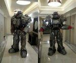 Redditor 3D prints gargantuan Fallout 4 T-60 power armor during 140 days of continuous 3D printing   http://www.3ders.org/articles/20161019-redditor-3d-prints-gargantuan-fallout-t-60-power-armor-during-140-days-of-continuous-3d-printing.html