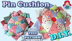 Patchwork Cushion Pattern Thread Catcher Ideas For 2019 Patchwork Cushion, Patchwork Baby, Crazy Patchwork, Patchwork Patterns, Thread Catcher, Free Pattern Download, Sewing Courses, Small Sewing Projects, Blanket Yarn