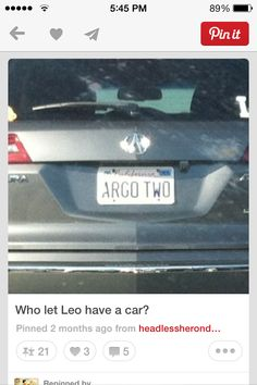 Leo ?! <<< whoever own this car I would like to meet him.