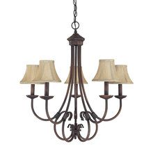 View the Capital Lighting 3225-423 Hometown 5 Light 1 Tier Chandelier at LightingDirect.com. $158