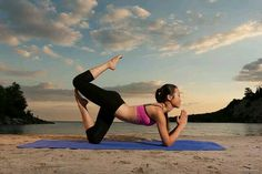 It's a great way to find peace with your body and at the same time to enjoy the hours on the beach in summer :-D