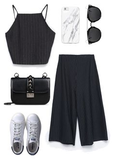 """Untitled #1743"" by kellawear on Polyvore featuring Zara, adidas and Valentino"