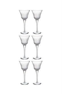 6 copos de licor em cristal Sofia<br>12 cl
