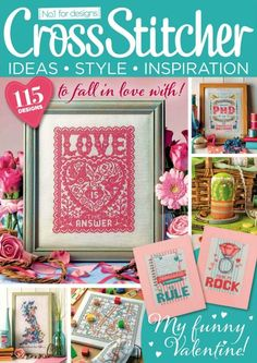 Cross Stitcher Magazine - February 2017 314 - CrossStitcher