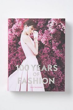 100 Years Of Fashion - Anthropologie.com @Alicia Callahan coffee table book? or something you might just want to have haha