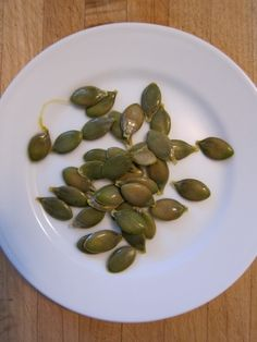 """Kakai:  Hulless Pumpkin Seeds, """"At less than five pounds, this specimen was on the small side, and yielded less than a cup of seeds."""""""