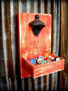 Beer Bottle Opener and Cap Catcher
