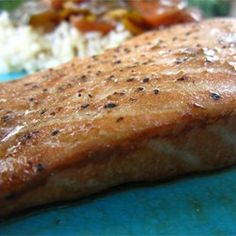 Lemon-Pepper Salmon II | This quick dinner works as well on a grill as it does under your oven's broiler. So easy and so good.