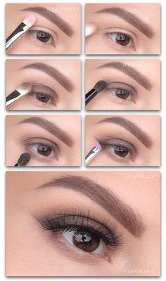 Trendy makeup face charts ideas make up 43 Ideas Dark Eye Makeup, Eye Makeup Steps, Natural Makeup, Natural Eye Makeup Step By Step, Monolid Makeup, Full Makeup, Natural Beauty, Best Makeup Tutorials, Makeup Tips For Beginners