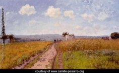 Camille Pissarro,June Morning, View over the Hills over Pontoise. See The Virtual Artist gallery: www.theartistobjective.com/gallery/index.html