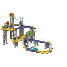 Chuggington Die-Cast - Brewster's Big City Adventure Deluxe Action Playset #train #stacktrack