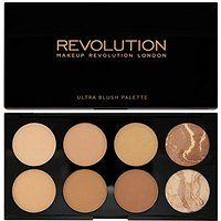 Makeup Revolution All About Bronze. 8 Bronzing Powders Contouring Palette