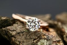 FOREVER ONE Moissanite Annie Certified by loveforeverjewelrysv