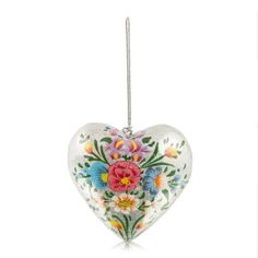Glitter Heart Decoration | Woolworths.co.za