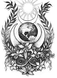 mandalas to colour Witch Coloring Pages, Adult Coloring Pages, Coloring Books, Coloring Sheets, Wiccan Tattoos, Pagan Tattoo, Wood Burning Stencils, Pagan Art, Wiccan Symbols