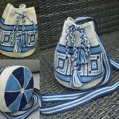 Tapestry Crochet Patterns, Crochet Dolls Free Patterns, Crochet Handbags, Crochet Purses, Sacs Tote Bags, Mochila Crochet, Tapestry Bag, Crochet Cushions, Boho Bags